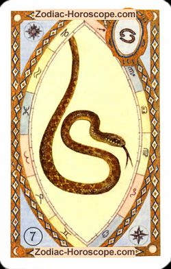 The snake, monthly Love and Health horoscope July Capricorn