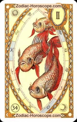 The fish Single love horoscope