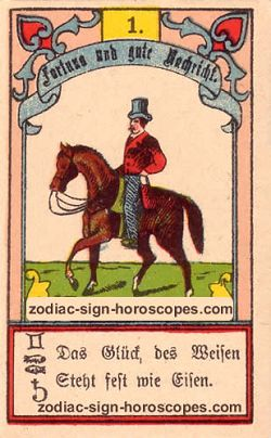 The rider, monthly Capricorn horoscope August