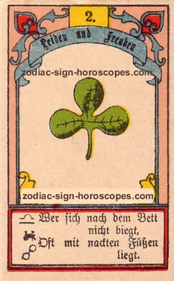 The clover, monthly Capricorn horoscope February