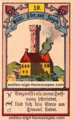 The tower, monthly Capricorn horoscope August