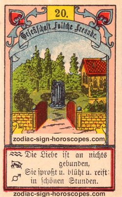 The garden, monthly Capricorn horoscope September