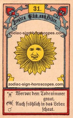 The sun, monthly Capricorn horoscope August