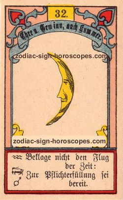 The moon, monthly Capricorn horoscope August